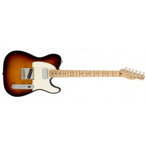 Fender 0115122300 American Performer Telecaster With Humbucking Maple Fingerboard Electric Guitar - 3 Color Sunburst