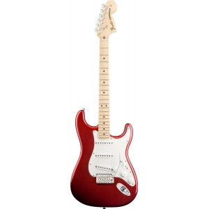Fender 0115602309 American Special Stratocaster Maple Fingerboard Electric Guitar - Candy Apple Red