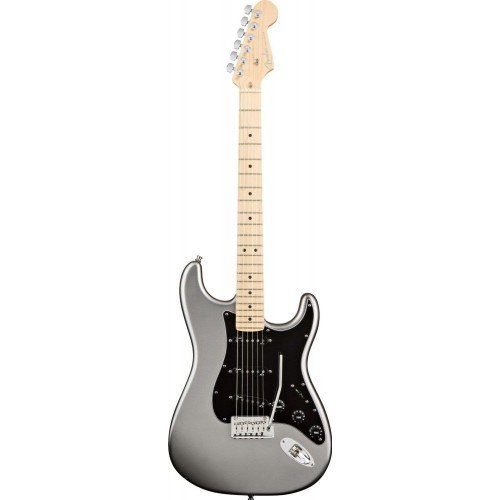 Fender 0119002759 American Deluxe Stratocaster 6 Strings Maple Fretboard Electric Guitar - Tungsten