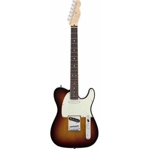 Fender 0119400700 American Deluxe Telecaster 6 Strings osewood Fretboard Electric Guitar - 3 Tone Sunburst