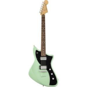 Fender Alternate Reality Meteora HH Stratocaster Electric Guitar, 22 Frets, Pau Ferro Fingerboard, Surf Green