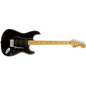 Fender 301227506 Squier Vintage Modified 70s Stratocaster Maple Fretboard Black