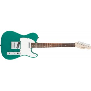 Fender 0310200592 Squier Affinity Telecaster Rosewood Fingerboard Beginner Electric Guitar - Race Green