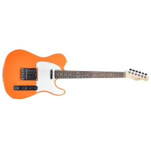 Fender 0310200596 Squier Affinity Series Telecaster Rosewood Fingerboard Electric Guitar - Competition Orange
