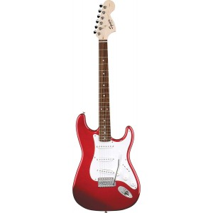 Fender 0310600525 Squier Affinity Stratocaster 6 Strings Rosewood Fretboard Electric Guitar - Metallic Red