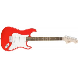 Fender 0310600570 Squier Affinity Stratocaster 6 Strings Rosewood Fretboard Electric Guitar - Race Red
