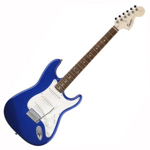 Fender 0310600595 Squier Affinity Stratocaster 6 Strings Rosewood Fretboard Electric Guitar - Metallic Blue