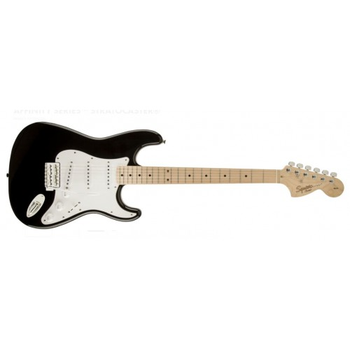 Fender 0310602506 Squier Affinity Stratocaster 6 Strings Maple Fretboard Electric Guitar - Black