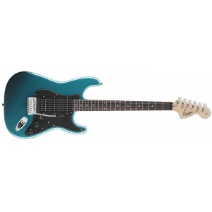 Fender 0310700502 Squier Affinity Fat Stratocaster HSS Rosewood Fingerboard Electric Guitar - Lake Placid Blue