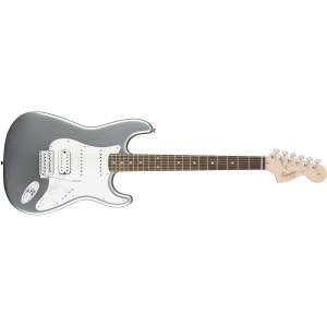 Fender 0310700581 Squier Affinity Series Stratocaster HSS Rosewood Fingerboard Electric Guitar - Slick Silver