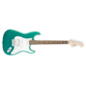 Fender 0310700592 Squier Affinity Series Stratocaster HSS Rosewood Fingerboard Electric Guitar - Race Green