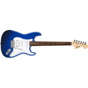 Fender 0310700595 Squier Affinity Fat Stratocaster 6 Strings Rosewood Fretboard Electric Guitar - Metallic Blue