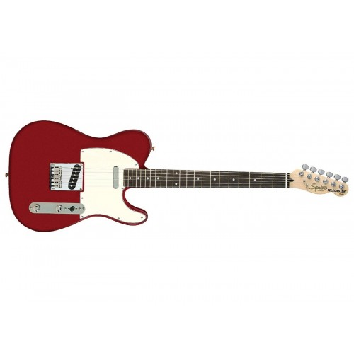 Fender Squier Standard Telecaster Rosewood Fretboard - Candy Apple Red