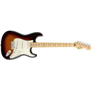 Fender 144502500 Player Stratocaster Electric Guitar Maple Fingerboard - 3 Color Sunburst