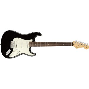 Fender 144503506 Player Stratocaster Electric Guitar Pau Ferro Fingerboard - Black