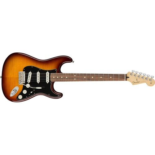 Fender 144553552 Player Stratocaster Electric Guitar Pau Ferro Fingerboard - Tobacco Sunburst