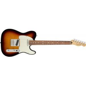 Fender 145213500 Player Telecaster Electric Guitar Pau Ferro Fingerboard - 3 Color Sunburst