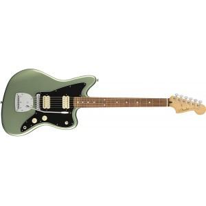 Fender 146903519 Player Jazz Master Electric Guitar Pau Ferro - Sea Green Metallic