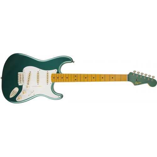 Fender Squier 303000546 Classic Vibe 50's Stratocaster Maple Fingerboard Electric Guitar - Sherwood Green Metallic