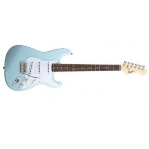 Fender Squier 310001504 Bullet Stratocaster Rosewood Fingerboard Electric Guitar With Tremolo - Daphne Blue