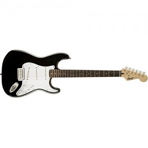 Fender Squier 310001506 Bullet Stratocaster Rosewood Fingerboard Electric Guitar With Tremolo - Black