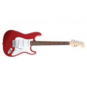 Fender Squier 310001580 Bullet Stratocaster Rosewood Fingerboard Electric Guitar With Tremolo - Fiesta Red