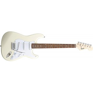 Fender Squier 310001580 Bullet Stratocaster Rosewood Fingerboard Electric Guitar With Tremolo - Arctic White