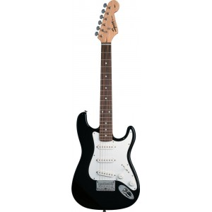 Fender Squier 310101506 Mini Stratocaster Rosewood Fingerboard Electric Guitar - Black