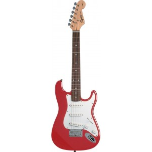 Fender Squier 310101558 Mini Stratocaster Rosewood Fingerboard Electric Guitar - Torino Red
