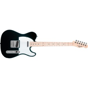 Fender Squier 310202506 Affinity Series Telecaster Maple Fingerboard Electric Guitar - Black