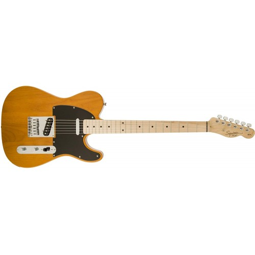 Fender Squier 370200592 Affinity Series Telecaster Electric Guitar - Butterscotch Blonde