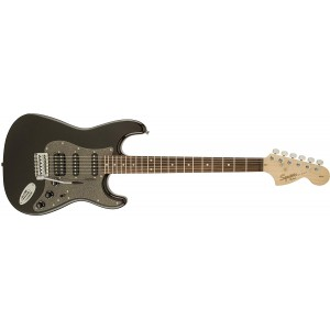 Fender Squier 310700564 Affinity Series Right Handed 6 Strings Fat Stratocaster Electric Guitar - Montego Black Metallic
