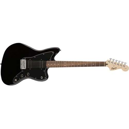 Fender Squier 313210506 Affinity Series Jazzmaster Electric Guitar HH - Black