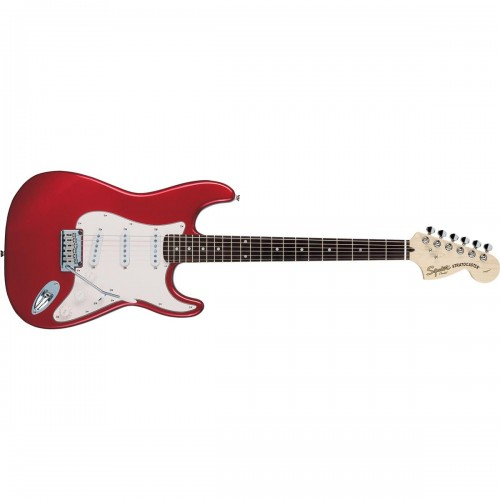 Fender Squier 321600509 Standard Stratocaster Rosewood Fingerboard Electric Guitar - Candy Apple Red