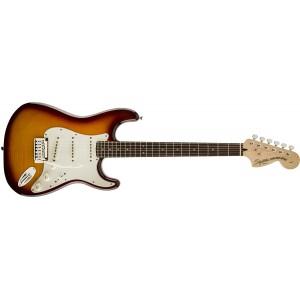 Fender Squier 321670520 Standard Stratocaster FMT Rosewood Fingerboard Electric Guitar - Amber Sunburst