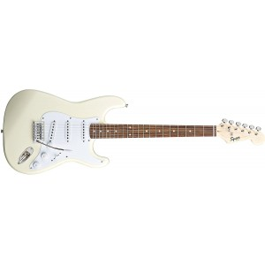 Fender Squier 370001580 Bullet Stratocaster Electric Guitar With Tremolo - Arctic White