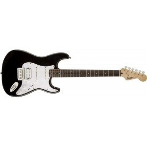 Fender Squier 370005506 Bullet Strat Electric Guitar With Tremolo HSS - Black