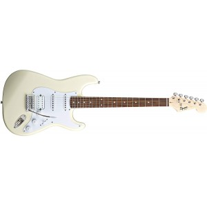 Fender Squier 370005580 Bullet Strat Electric Guitar With Tremolo HSS -Arctic White