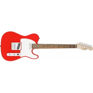 Fender Squier 370200570 Affinity Series Telecaster Beginner Electric Guitar - Race Red