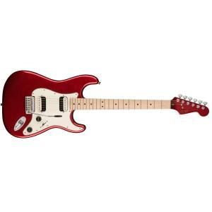 Fender Squier 370222525 Contemporary Stratocaster HH Maple Fingerboard - Dark Metallic Red