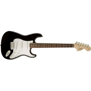 Fender Squier 370600506 Affinity Series Stratocaster Electric Guitar Laurel Fingerboard - Black
