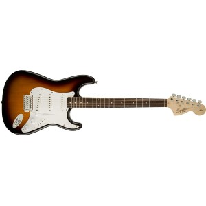 Fender Squier 370600532 Affinity Series Stratocaster Electric Guitar Laurel Fingerboard - Brown Sunburst