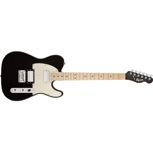Fender Squier 371222565 Contemporary Telecaster HH Maple Fingerboard - Black Metallic
