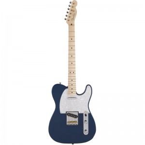 Fender Made In Japan Hybrid Telecaster with Maple Neck in Satin Indigo